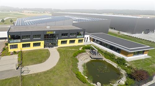 blizz-z Firmengebäude in Feuchtwangen