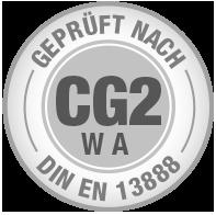 Prüfsiegel CG2 WA