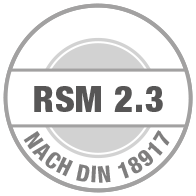 Prüfsiegel RSM 2.3
