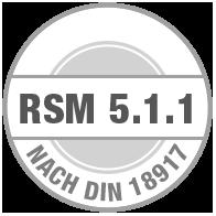Prüfsiegel RSM 5.1.1