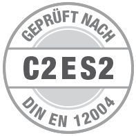 Prüfsiegel C2 E S2