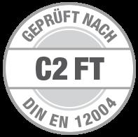 Prüfsiegel C2 FT