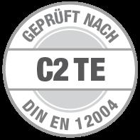 Prüfsiegel C2 TE