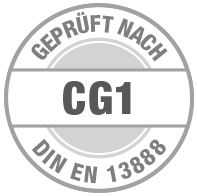 Prüfsiegel CG1