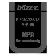 Prüfsiegel MPA-BS P-5040 375/13