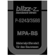Prüfsiegel MPA-BS P-5243/3566