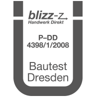 Prüfsiegel Bautest Dresden P-DD 4398/1/2008