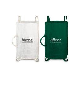 Gartenbag | Grün und weiß